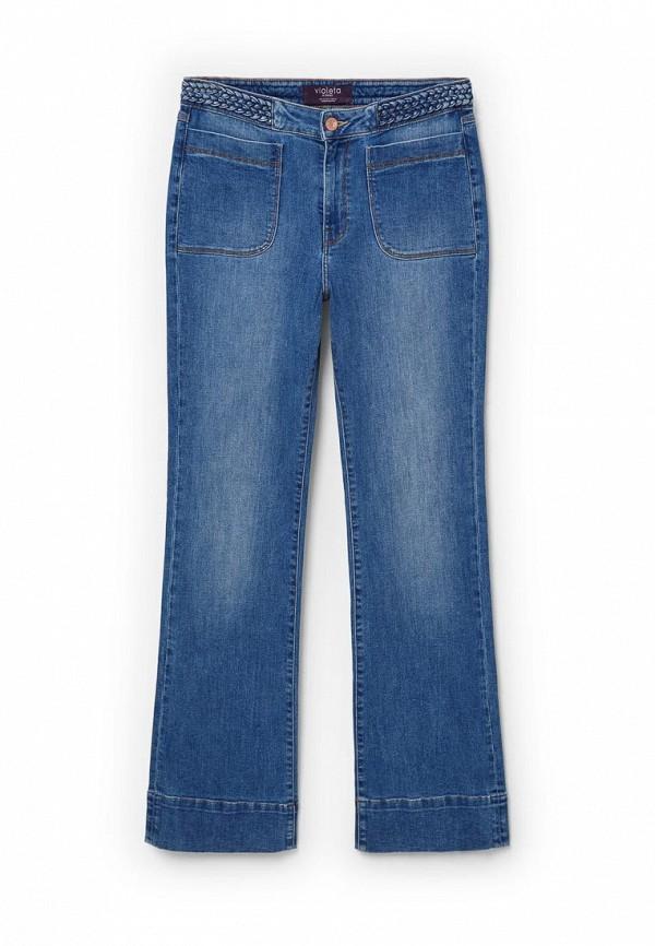 Широкие и расклешенные джинсы Violeta by Mango (Виолетта бай Манго) 73030141