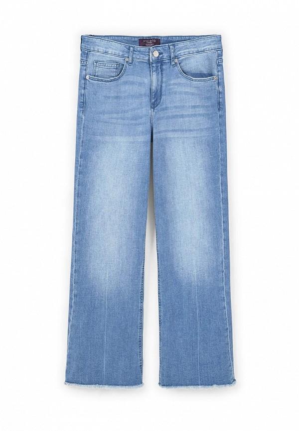 Широкие и расклешенные джинсы Violeta by Mango (Виолетта бай Манго) 83045565