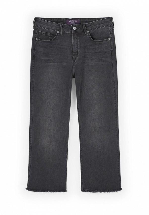Широкие и расклешенные джинсы Violeta by Mango (Виолетта бай Манго) 83075560