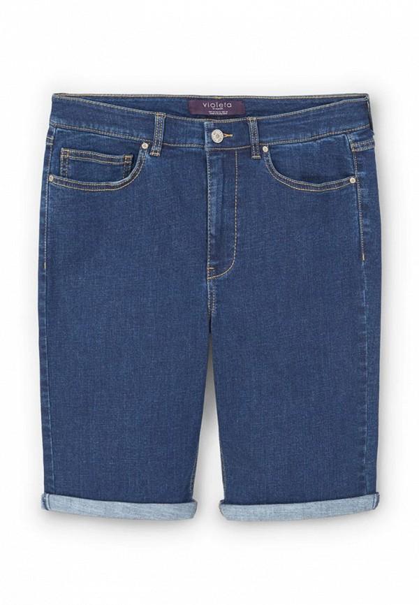 Шорты джинсовые Violeta by Mango 83047542