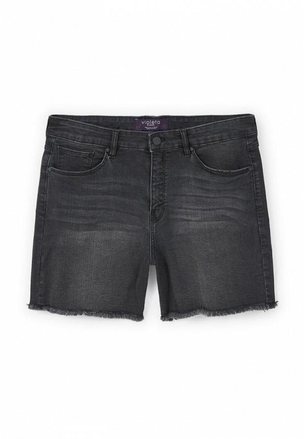 Шорты джинсовые Violeta by Mango 83077531