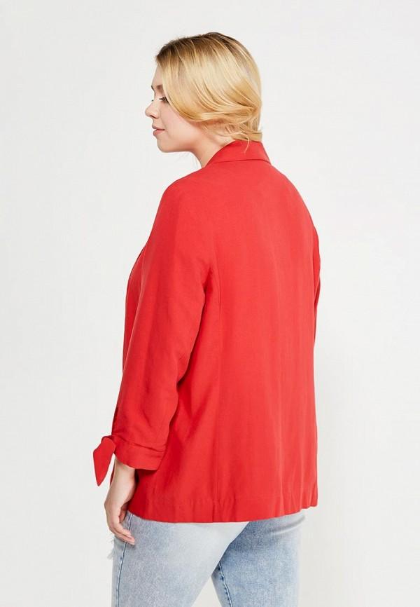 Фото 3 - женский жакет Violeta by Mango красного цвета