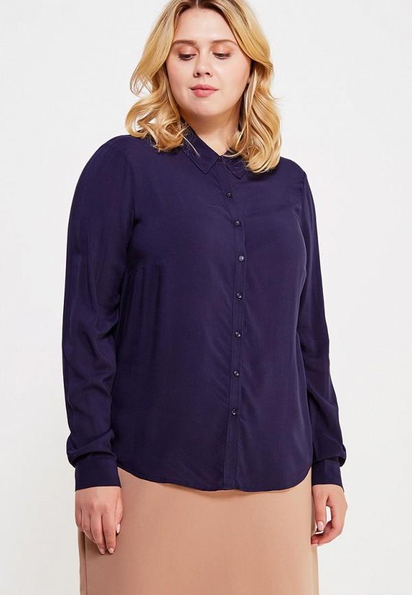 Фото - женскую блузку Violeta by Mango синего цвета