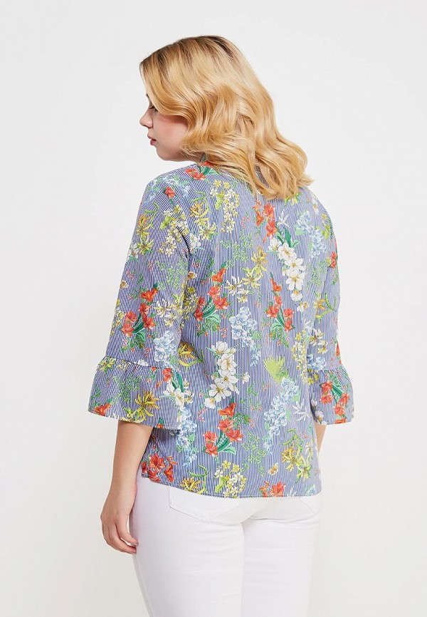 Фото 3 - Блузу Violeta by Mango разноцветного цвета