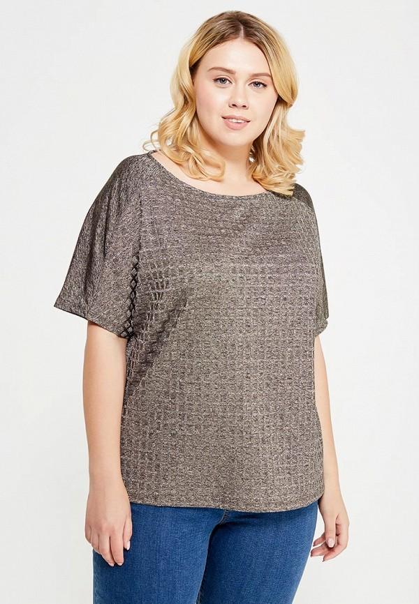Фото - женскую футболку Violeta by Mango серого цвета