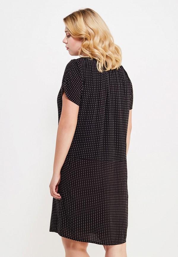 Фото 3 - женское платье Violeta by Mango черного цвета