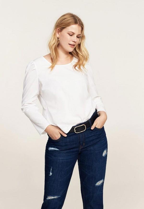 Фото - женскую блузку Violeta by Mango белого цвета
