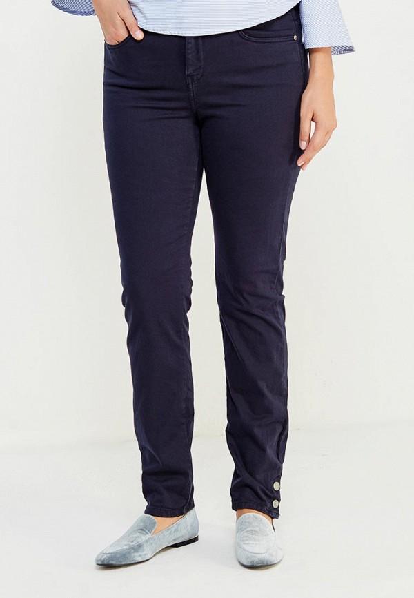 Фото - женские брюки Violeta by Mango синего цвета