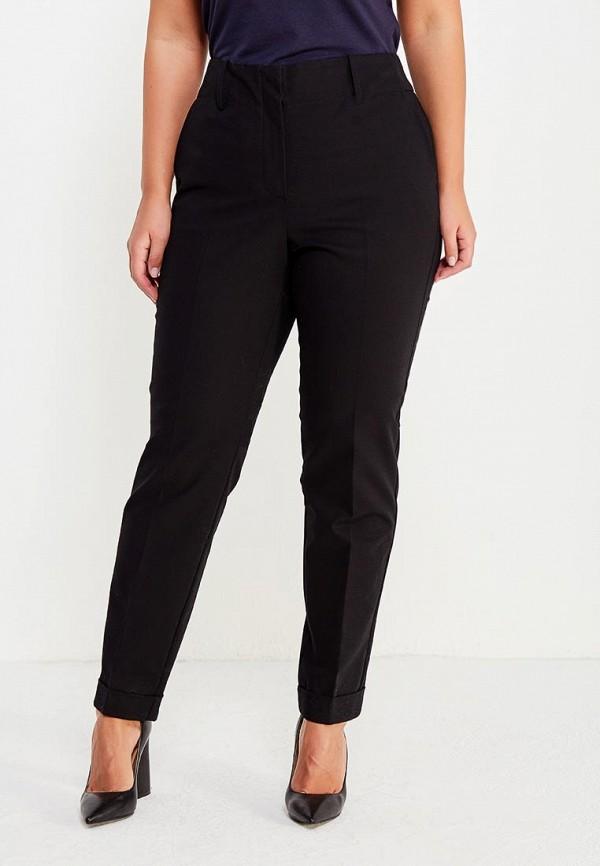 Фото - женские брюки Violeta by Mango черного цвета