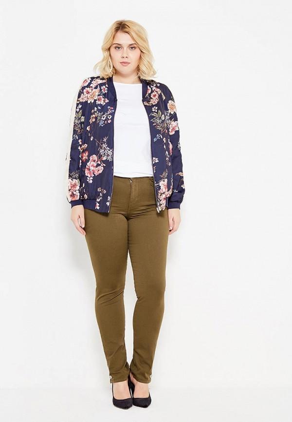 Фото 2 - женскую куртку Violeta by Mango синего цвета