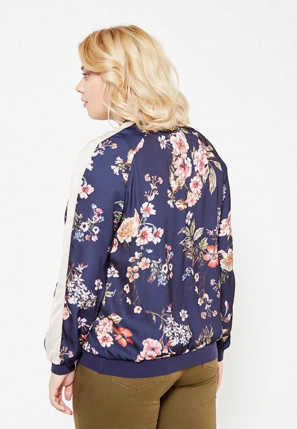 Фото 3 - женскую куртку Violeta by Mango синего цвета