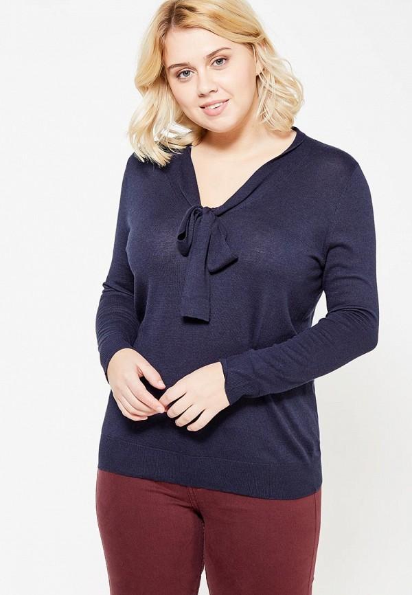 Фото - женский пуловер Violeta by Mango синего цвета