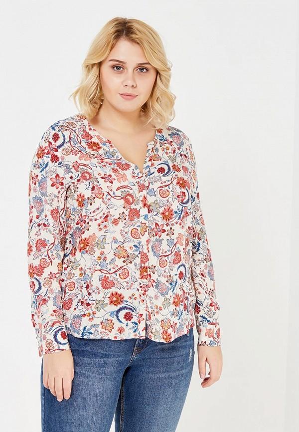 Фото - женскую блузку Violeta by Mango красного цвета