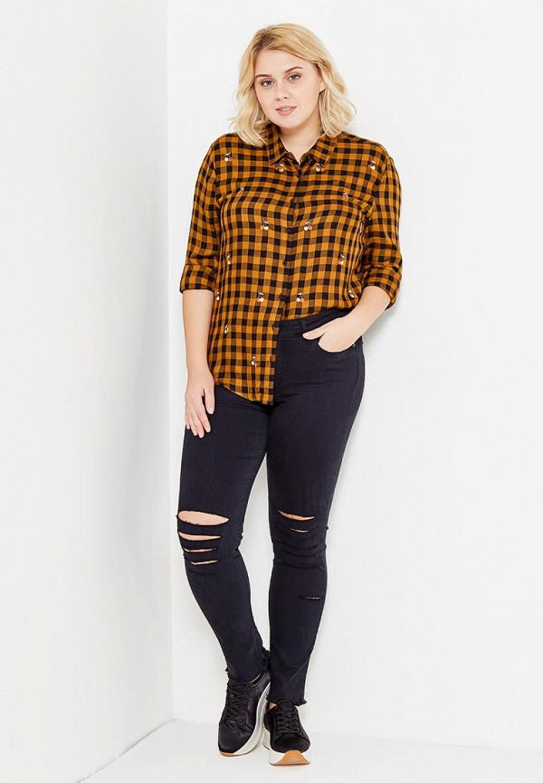 Фото 2 - женские джинсы Violeta by Mango синего цвета