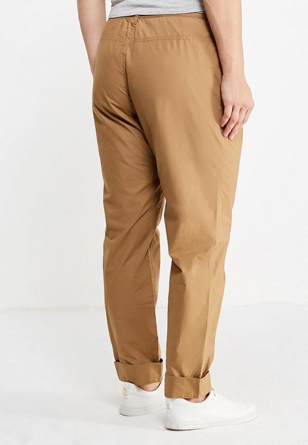 Фото 3 - мужские брюки Violeta by Mango бежевого цвета