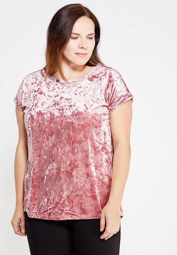 Фото - женскую футболку Violeta by Mango розового цвета