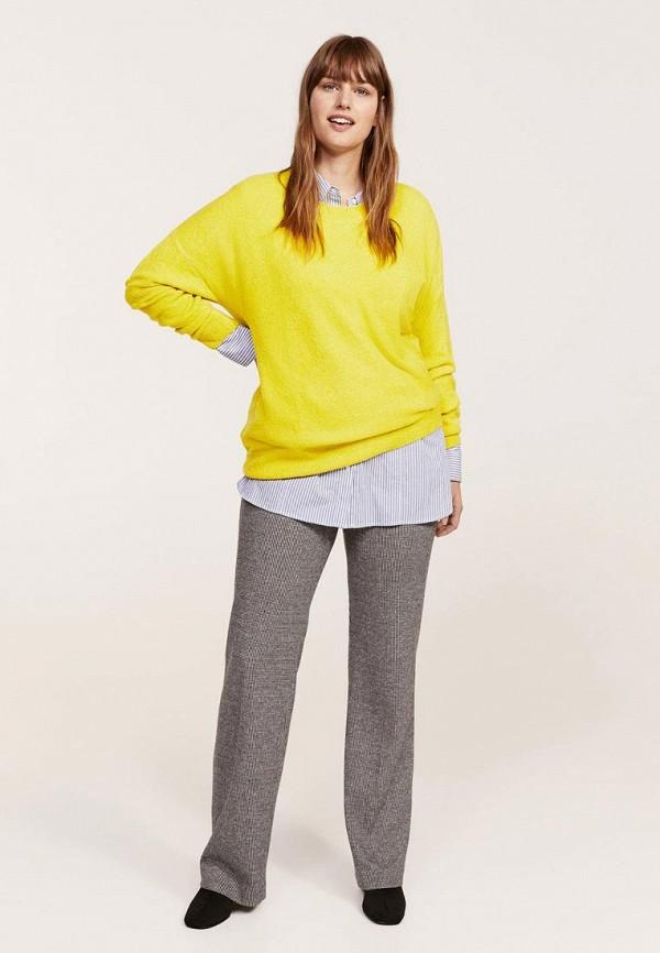 Фото - женский джемпер Violeta by Mango желтого цвета
