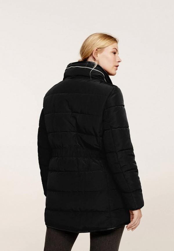 Фото 2 - Куртку утепленная Violeta by Mango черного цвета
