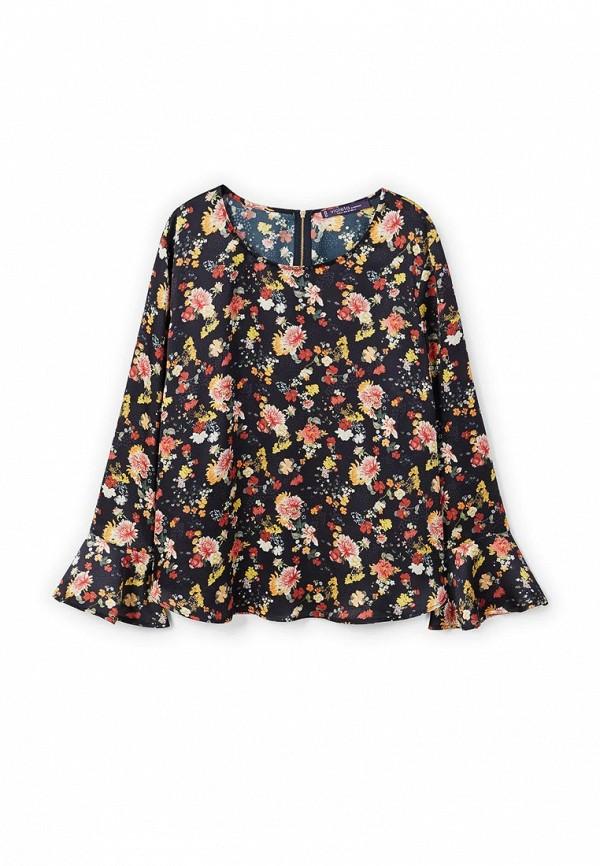 Фото 4 - женскую блузку Violeta by Mango черного цвета