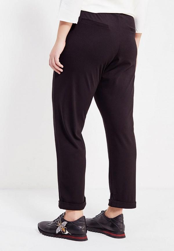 Фото 3 - женские брюки Violeta by Mango черного цвета