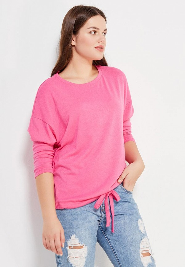 Фото - женский джемпер Violeta by Mango розового цвета