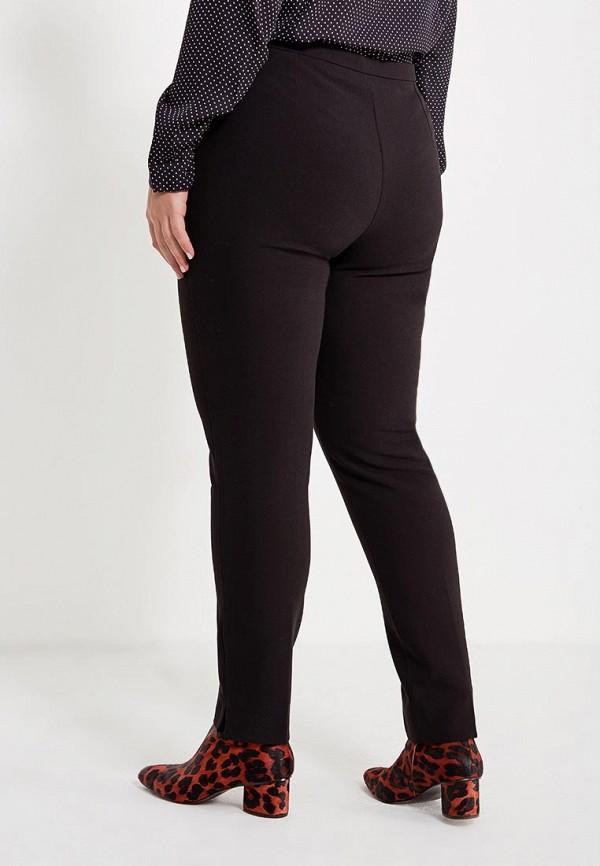 Фото 3 - мужские брюки Violeta by Mango черного цвета