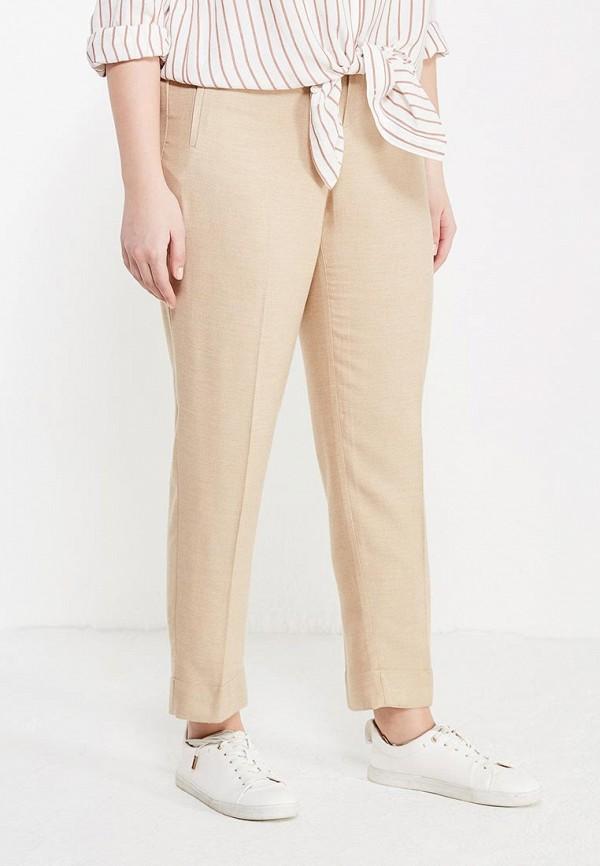 Фото - женские брюки Violeta by Mango бежевого цвета
