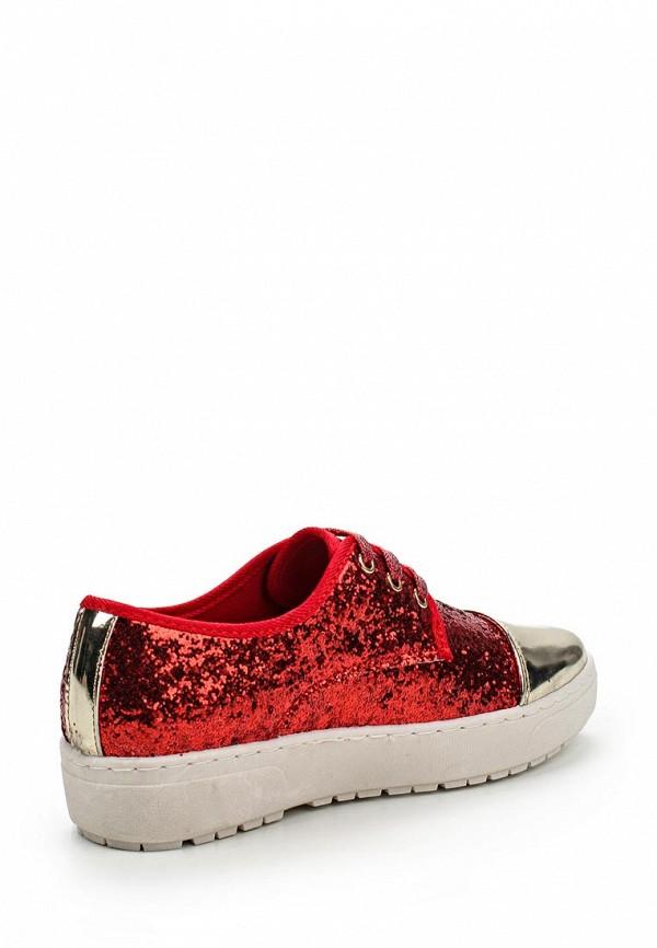 Фото 2 - Ботинки Via Giulia красного цвета