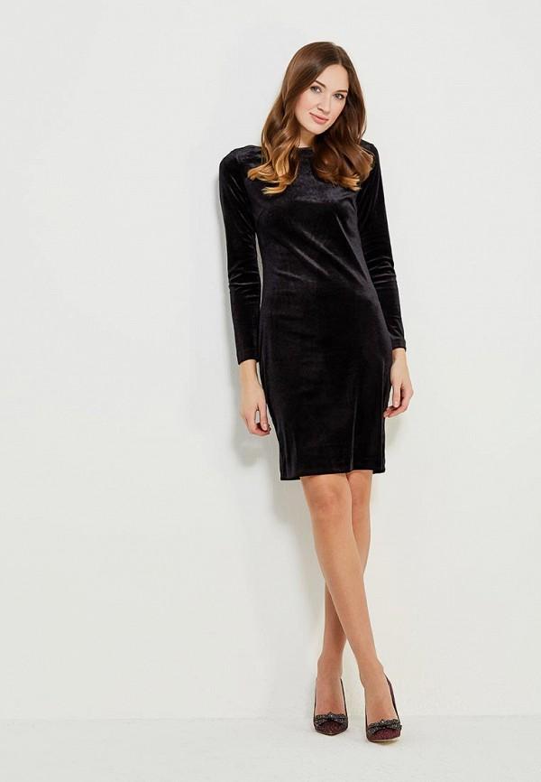 Фото 2 - женское платье Vittoria Vicci черного цвета