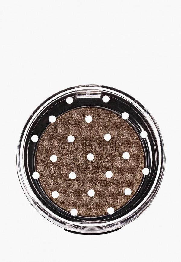 Купить Тени для век Vivienne Sabo, устойчивые, Eyeshadow Longlasting Mono, тон 117, VI054LWSEQ81, коричневый, Весна-лето 2018