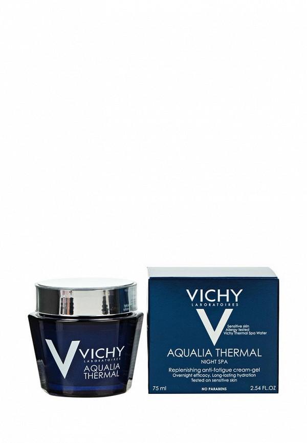Крем Vichy Ночной СПА-уход AQUALIA THERMAL 75 мл я самая подарочный набор салонный уход крем маникюр 75 мл крем педикюр 75 мл