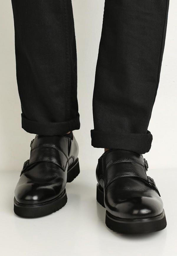 Фото 5 - мужские туфли Vitacci черного цвета