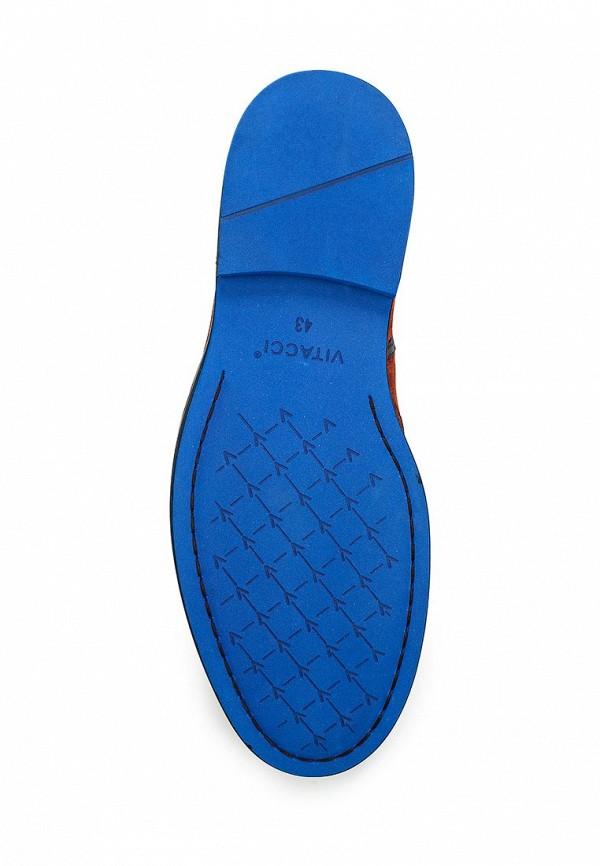 Фото 3 - мужские ботинки и полуботинки Vitacci коричневого цвета