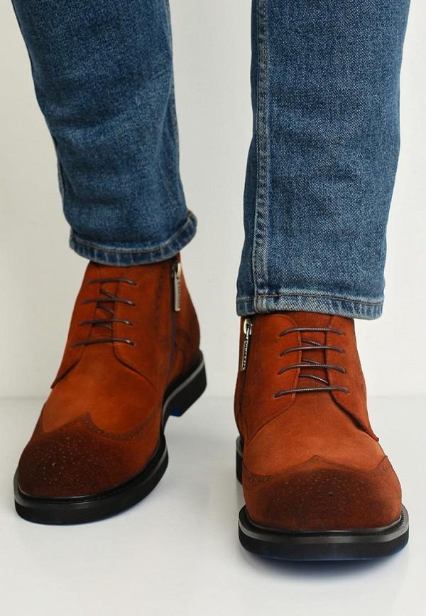 Фото 5 - мужские ботинки и полуботинки Vitacci коричневого цвета