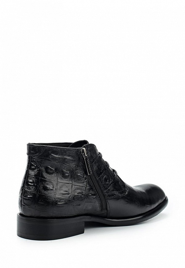 Фото 2 - Ботинки классические Vitacci черного цвета