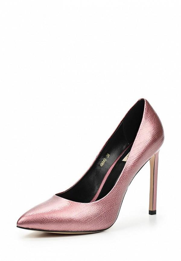 Фото - женские туфли Vitacci розового цвета