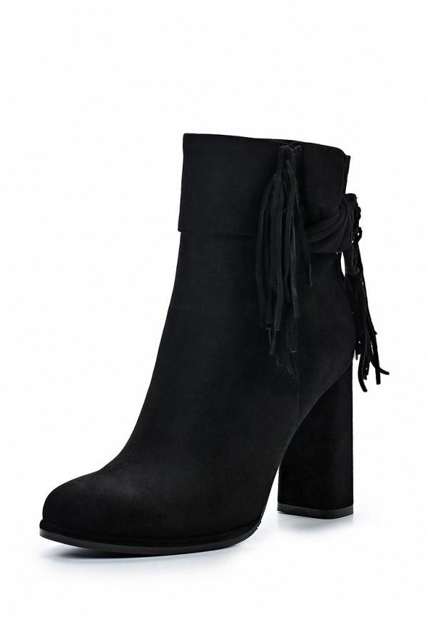 Фото - женские ботильоны Vitacci черного цвета