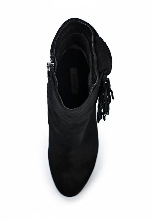 Фото 4 - женские ботильоны Vitacci черного цвета