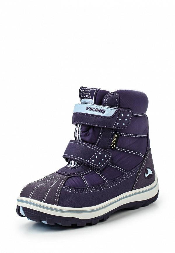 Ботинки для девочек Viking 3-84331-01656