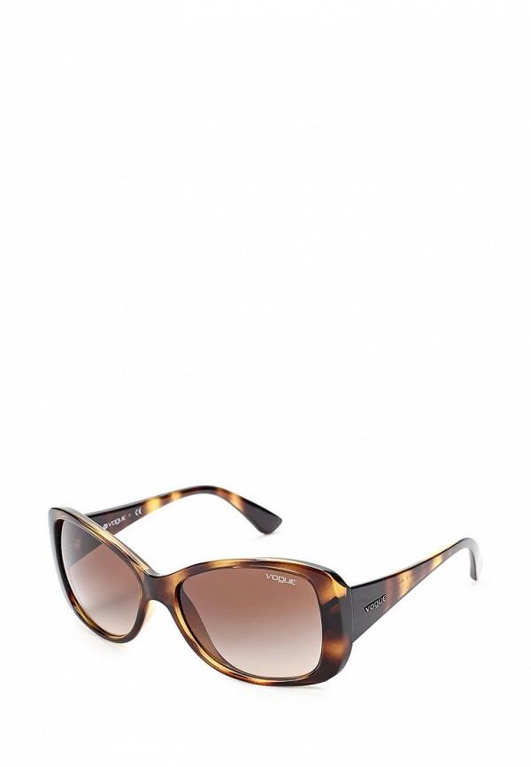 Очки солнцезащитные Vogue® Eyewear Vogue® Eyewear VO007DWABYA1 vogue vogel очки черного кадра серебряного покрытия линза мода полной оправе очки vo5067sd w44s6g 56мм