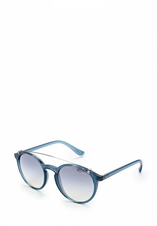 Очки солнцезащитные Vogue® Eyewear Vogue® Eyewear VO007DWABYA3 vogue vogel очки черного кадра серебряного покрытия линза мода полной оправе очки vo5067sd w44s6g 56мм