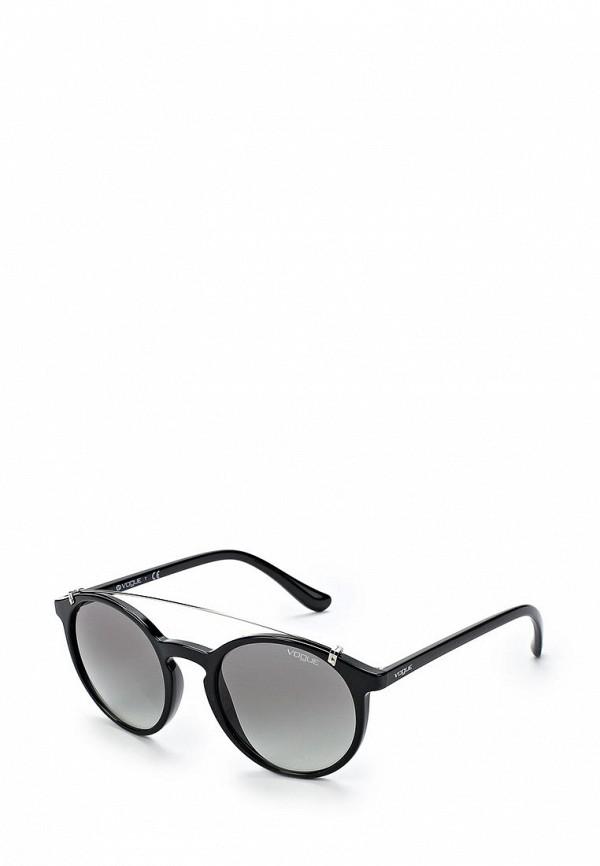 Купить Очки солнцезащитные Vogue® Eyewear, VO5161S W44/11, VO007DWABYA4, черный, Весна-лето 2018