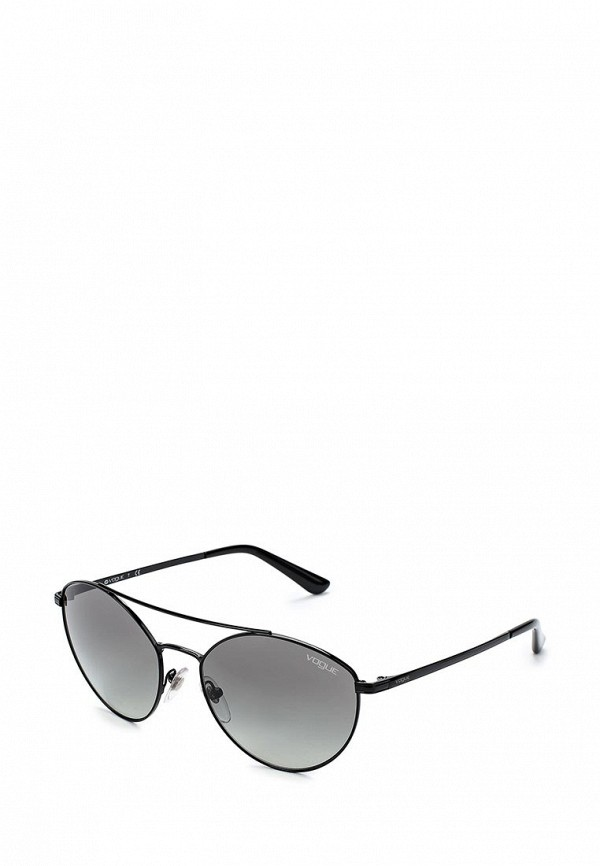 Очки солнцезащитные Vogue® Eyewear Vogue® Eyewear VO007DWABYA6 vogue vogel очки черного кадра серебряного покрытия линза мода полной оправе очки vo5067sd w44s6g 56мм