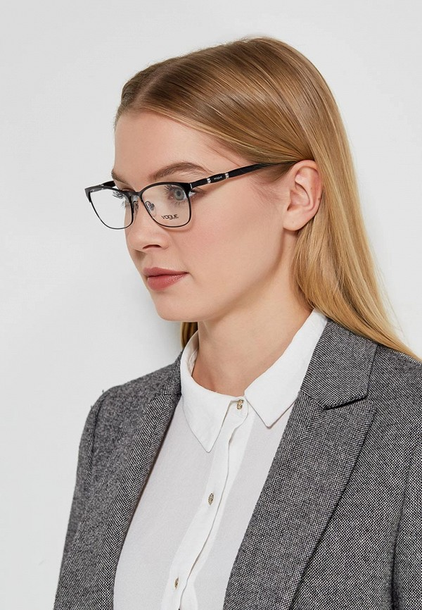 Фото 5 - Оправа Vogue® Eyewear черного цвета