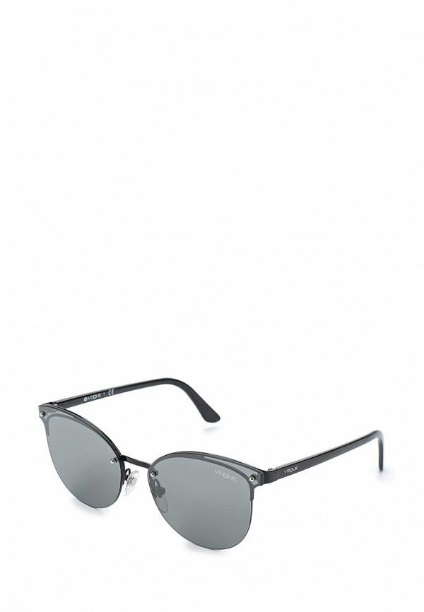 Очки солнцезащитные Vogue® Eyewear, VO4089S 352/6G, VO007DWAUPA3, черный, Весна-лето 2018  - купить со скидкой