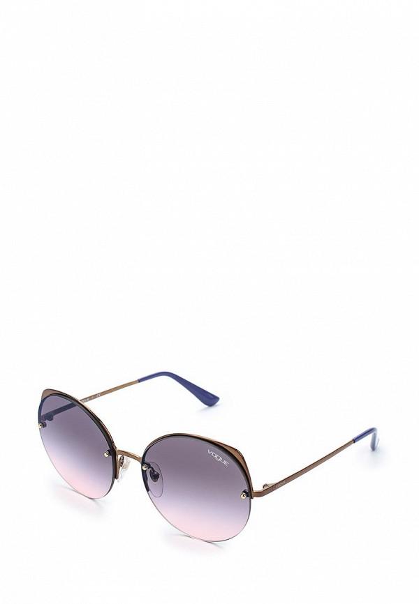 Очки солнцезащитные Vogue® Eyewear Vogue® Eyewear VO007DWAUPA6 vogue vogel синий кадр серый градиент объектив солнцезащитные очки моды полные оправе очки солнцезащитные очки vo2993sf 235611 57мм
