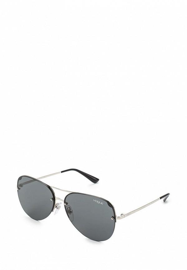 Очки солнцезащитные Vogue® Eyewear Vogue® Eyewear VO007DWAUPA8 vogue vogel очки черного кадра серебряного покрытия линза мода полной оправе очки vo5067sd w44s6g 56мм