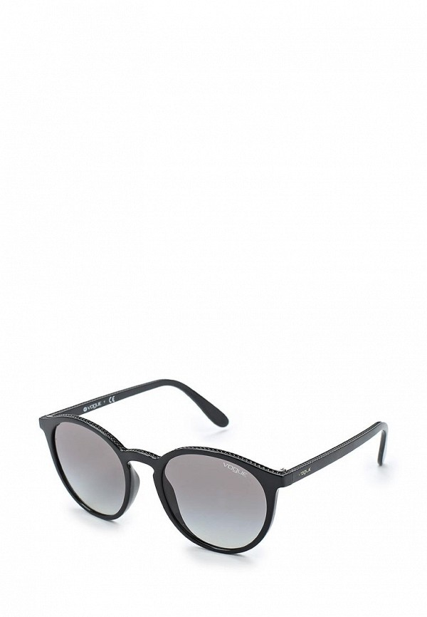Купить Очки солнцезащитные Vogue® Eyewear, VO5215S W44/11, VO007DWAUPA9, черный, Весна-лето 2018