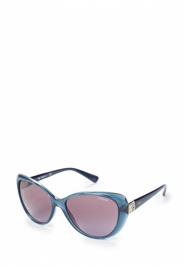 Купить Очки солнцезащитные Vogue® Eyewear, VO5193SB 25348H, VO007DWAUPB8, синий, Весна-лето 2018