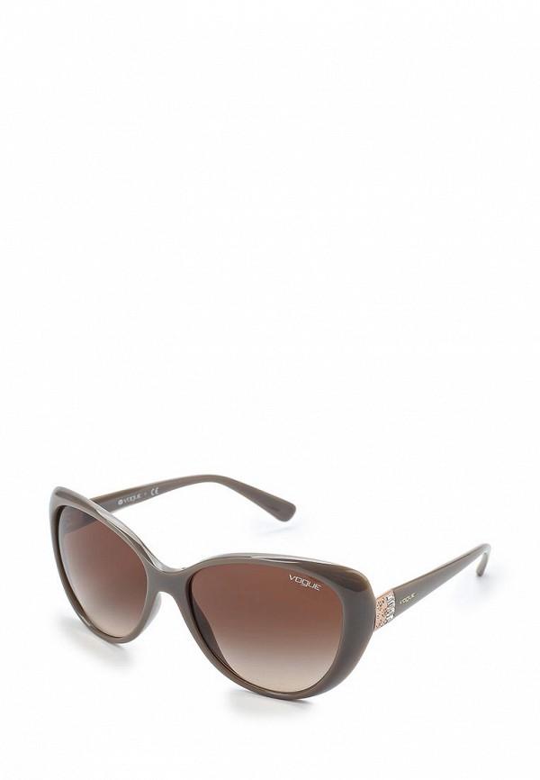 Очки солнцезащитные Vogue® Eyewear Vogue® Eyewear VO007DWAUPB9 vogue vogel очки черного кадра серебряного покрытия линза мода полной оправе очки vo5067sd w44s6g 56мм
